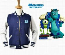 Monsters University Varsity Baseball Uniforms Adult Jackets Cosplay Costume