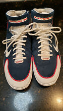 Nike Air Zoom Huarache 2K4 Olympic USA Kobe 308475 400 Sz 10 1/2 Mens