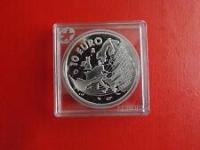 * españa 10 euro 2004 plata pp * Ampliación UE/estrella series (de corte 38)