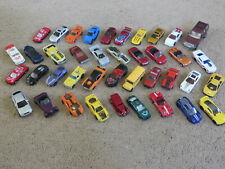 Mixed Lot of 40 diecast cars + trucks - Maisto Hot Wheels Matchbox +other