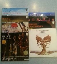Berlioz Collection of 7 LPs Various Composers