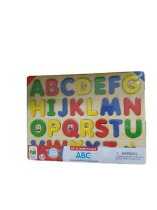 The Learning Journey: Lift & Learn ABC Puzzle - Pictures Underneath Each Piece