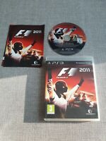F1 2011 PS3 PLAYSTATION 3 PREOWNED