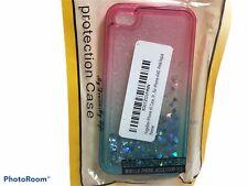 NageBee Pink/Aqua Case IPhone 4S Sparkles NEW