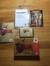 The Legend of Zelda: Ocarina of Time Gold Collectors Edition (N64) Complete