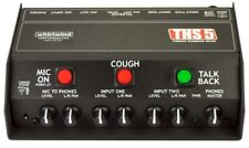 Whirlwind THS 5 Talkback Podcast Headphone Box Broadcast Announcer Interface