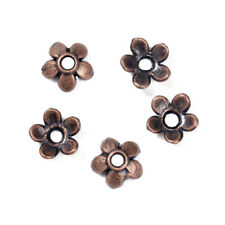 500 Antiqued Copper 6 mm Flower Bead Caps For 6-8 mm Beads  591