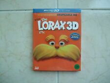 The Lorax (2016, Blu-ray) Full Slip Case Edition / 2D + 3D Combo