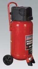 Sealey Tools SAC05020 Compressor 50ltr Belt Drive 2hp Oil