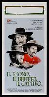 Plakat die Gut die Nasty E die Böse Sergio Leone Eastwood Van Cleef L100