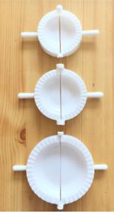 3 Dumpling Mould Pasty Pastry Press Dough Dimsum Maker Set Empanada Calzone Mold