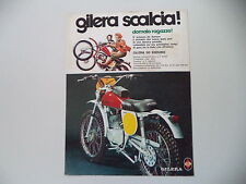 advertising Pubblicità 1975 MOTO GILERA 50 ENDURO