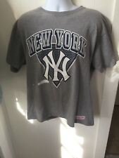 Baseball New York Yankees Logo Mitchell And Ness T Shirt Sz XL
