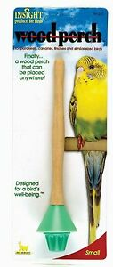 JW Insight Wood Perch For Small Birds Random Colors