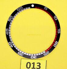 NEW SEIKO NEW RALLYE BEZEL INSERT DIVER'S WATCH 7002 / 6309 / 7S26 WATCH NR-079