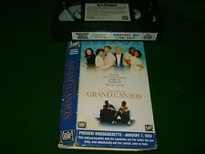 Vhs *GRAND CANYON* 1991 Mega Rare (Not For Sale) Fox Video - Dealer Only Edidion