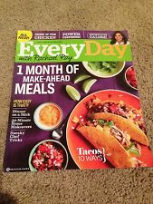 """EVERYDAY"" With Rachael Ray Magazine September 2011 Issue Make Ahead Meals"