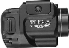 Stream-light 69410 TLR-8 500 Lumen Mounted Tactical Flashlight W/Red Laser,Black