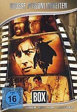 4 Filme - Malcolm X, Hannibal, Tarzan, Zorro u.a mit ALAIN DELON, BUD SPENCER