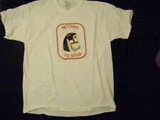 New Mens Light Horse White T shirt XL Fruit of the Loom