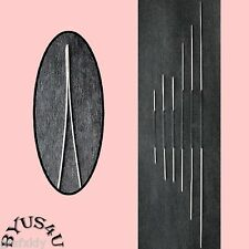 BEADING NEEDLES WIDE EYE 1½ - 5 inch ASSORTED SIZES 6pk JEWELRY MAKING