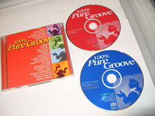 100% Pure Groove, Vol. 1 (2 CD 1996) Ex Condition
