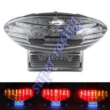 Turn Signals Tail Brake LED Light For Suzuki Hayabusa GSX1300R 1999-2007 Clear