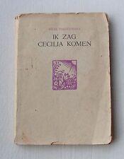 Felix Timmermans 'Ik zag Cecilia komen' ca 1940  Van Kampen Amsterdam - gebonden