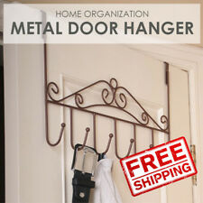 SOL Door Metal Hanger D1. Hang clothes, belts etc. Comes in black, white, brown
