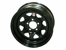 "Dexstar 14"" Steel Trailer Wheel Black Spoke 5-4.5 Made in the USA"