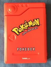 Pokemon Pokedex Handheld 1999 Tiger Electronics Vintage Working
