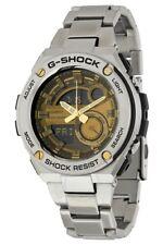 Casio G-Shock G-Steel WR 20Bar World Time Silver Men's Watch GST210D-9A SD