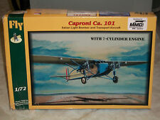 Fly 1/72 Scale Caproni Ca101, Italian Light Bomber & Transport Aircraft