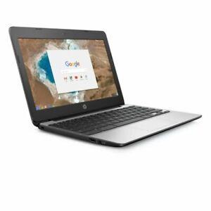 """New HP Chromebook 11-v031nr 11.6"""" HD Intel Celeron N3060 4GB 16GB eMMC"""