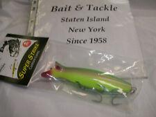 Brand New Super Strike Rattln Little Neck 2 oz Surface Swimming Plug Neon Yellow