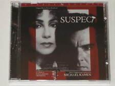Suspect cd Movie Soundtrack Limited Edition 2,000 Film Michael Kamen Cher NEW