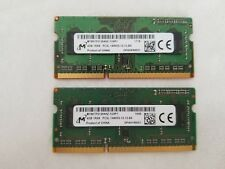 Micron 8gb (2x4gb) PC3L-14900S -13-13 B4 DDR3 Sodimm Laptop Ram Memory Card