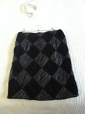HarryWHO Quality Black Leather Skirt Size Aus 14, US 10