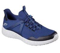Skechers Men's Burst-Shinz Low-Top Sneakers NVY 52115 #BR
