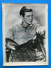 PETER BRECK hand signed autographed photo of star of The Big Valley