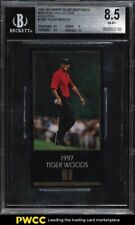 1998 Champions Of Golf Masters Collection Gold Foil Tiger Woods ROOKIE BGS 8.5