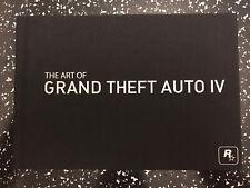 🎮 el arte de Grand Theft Auto IV 4 libro 🎮 Rockstar Games 🎮 Excelente Estado 🎮