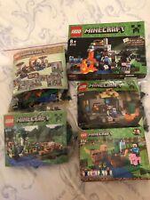 LEGO 5 Minecraft Jeux