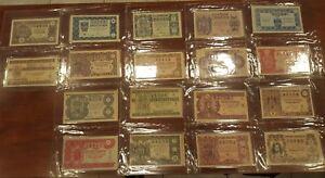 Juego completo 36 decimos Loteria Nacional año 1951 A1