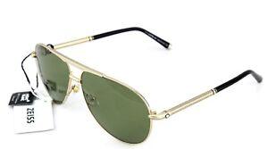 RARE POLARIZED New MONT BLANC Zeiss Lens Gold Aviator Sunglasses MB517S 28R