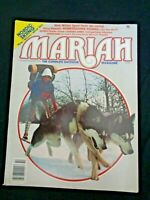 Mariah Outside Magazine 1978 Edward Abbey Hemingway on Trout Fishing Ski Aspen