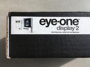 X-Rite Eye-One i1 Display 2 Colour - Professional Monitor Calibration - SEALED