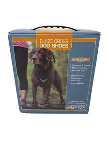 Kurgo Blaze Cross Dog Shoes All Season Paw Protectors Reflective No Slip XL New!