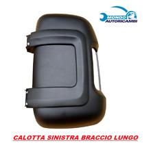 CALOTTA NERA FIAT DUCATO SPECCHIETTO BRACCIO LUNGO SINISTRO DAL 2006 >