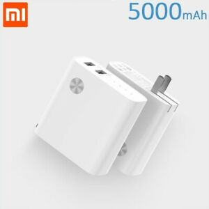 Xiaomi Power Bank 5000mAh + Dual Wall Charger Combo External Battery 2 USB Ports